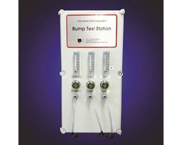 The CAC-BTS Series bump test stations from CAC Gas.