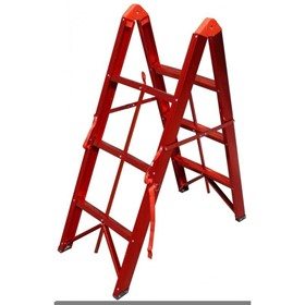 Aluminium Folding Ladder 3 Steps 0.85m | FLD3