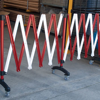 Expanding Barriers - Use in Airports, Warehouses & Sporting Grounds
