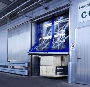 Rapid automated roll doors anti-crash feature