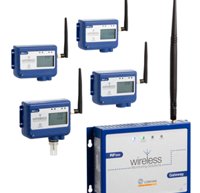 Temperature Monitoring System & Process Signals | Comark RF500