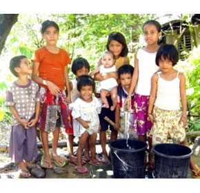 Aquasol builds water purification system for PHL villages