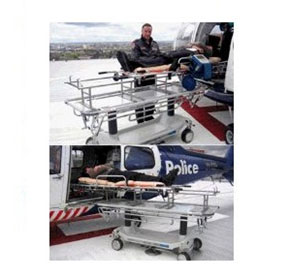 Air Ambulance Hydraulic Stretcher | Hausted® Helipad 460