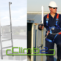 Access Ladders | Climb2 Ladderhead with Arrest Brackets