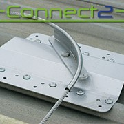Connect2 Surface Mount Corner Post for Lifelines