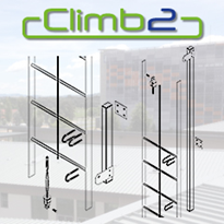 Climb2 CLL117 10M System for Existing Ladders