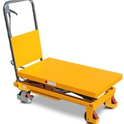 Mobile Scissor Lift Trolley - 350kg | Castors & Industrial | SLM300