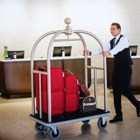 Premium Bellboy Trolley | Bellhop