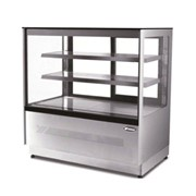 Atosa Upright Square Cake Display Cabinet - 1200mm