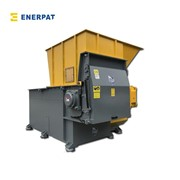 UK Enerpat Economic Single Shaft Shredder for Blue Plastic Barrel