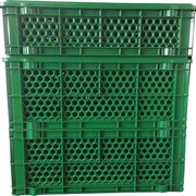 Stackable Plastic Crates Vented | IB Honeycomb