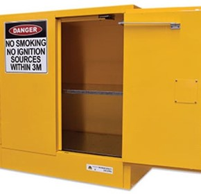 250L Flammable Liquids Cabinet | Manufactured In Australia
