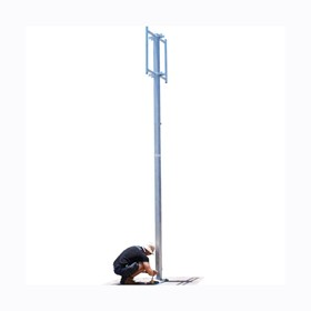 Freestanding Hinged Mast - 8m