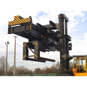 Reach Stacker Attachment | Lateral Coil Handler