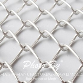 Stainless Steel Chain Link Fence Fabric