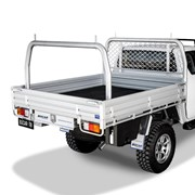 Extra Cab Alloy UTE Tray | L 2185 x W 1855mm - Deluxe