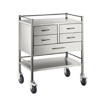 S/S Resuscitation Trolley
