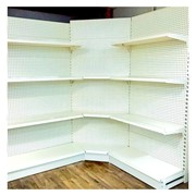 Gondola Shelving 2.2M Height Corner Shelves