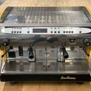 San Marino Lisa R 2 Group Espresso Coffee Machine - Yellow