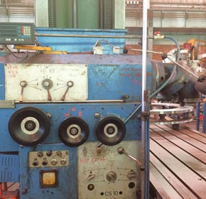 Used 6 Metre Butler Elga Mill Model CS10