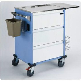 Webster 3 Drawer Medication Trolley
