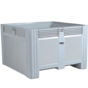 0422 Solid Mega Storage Bin - 780L 1162 x 1162 x 780mm