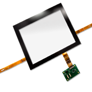 PCAP Multi-Touch Sensors with and without Glass Cover Lens