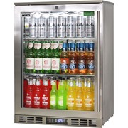 Rhino Stainless Steel 1 Heated Glass Door Bar Fridge|SG1L-HD