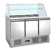Thermocool High-Glass Top Salad Prep Bench Fridge 368L