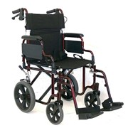 Deluxe Transport Manual Wheelchair