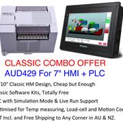 "Classic Levi Combo Offer - 7"" HMI + Expandable PLC"