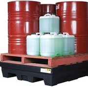 Drum Bund & Spill Pallet | Drum Containment Bund | Four Drum