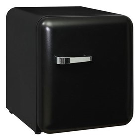 Schmick Black Mini Retro Bar Fridge HUS-RND46B