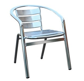 Madrid Aluminium Armchair | Stackable Indoor/Outdoor Chair