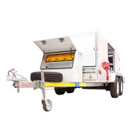 50 HP Powered Drain Cleaner - Trailer Mounted | DJ50-310 KDW2204