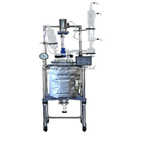 Jacketed Reactors | R-series 20L Single/dual Glass Reactors