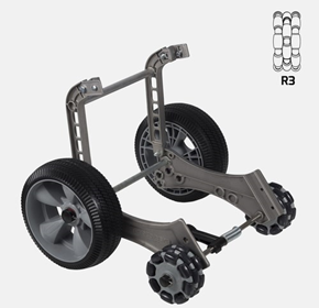 Rotatruck Conversion Kit AT PRO | Hand Trolley | Omniwheels