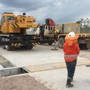 Custom weighing-in-motion weighbridge for Indonesia