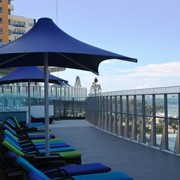 SKYSPAN SUNSET Umbrella | Retractable, Centre Column