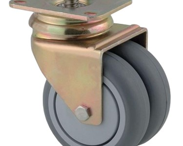 Twin Wheel Aviation Castors