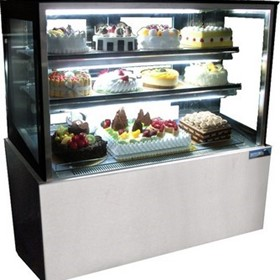 Cake Display|Mitchel Refrigeration 1200mm Straight Glass Cold Display
