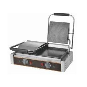 Electric Panini Full Flat Double Contact Grill