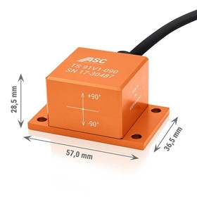 Uniaxial Tilt Sensors | ASC TS91V5 | Inclinometers