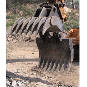 Heavy Duty Extra Wide Rake Grapple/Grab HD120