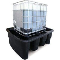 Single IBC Containment Bund | Polyethylene | Made In Australia