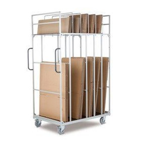 Cardboard Packaging Transport Utility Trolleys | KT-VP1