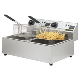 Commercial Deep Fryer Electric 20 Litre – Double Chip Fryer