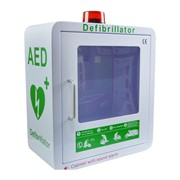 AED / Defibrillator Cabinet with Alarm and Strobe
