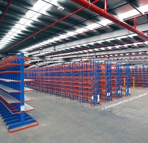 Warehouse Racking Fitout for Sandvik Mining & Rock Technology - Pinkenba, QLD