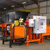 CK International twin ram balers - Brentwood Recycling Systems